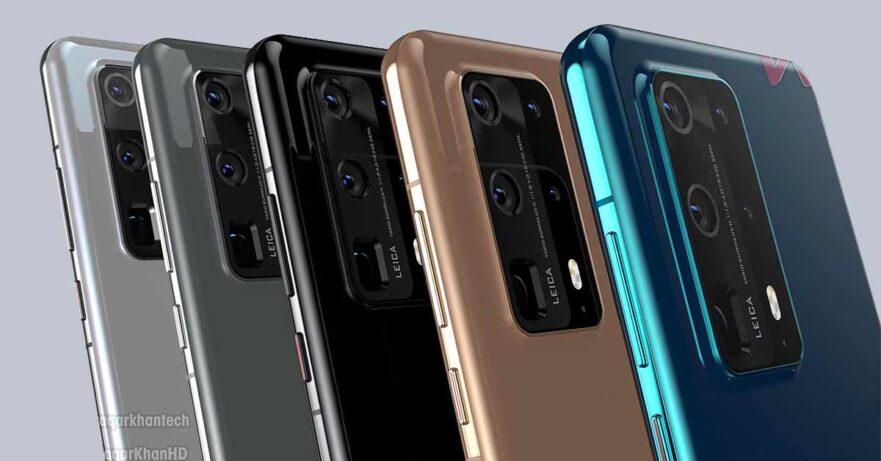 Huawei P40 Pro Premium Edition design leak in video via Revu Philippines