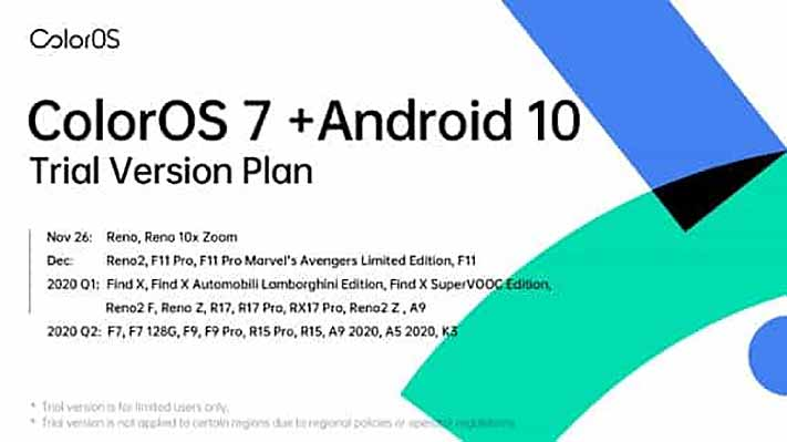 OPPO ColorOS 7 beta update global rollout schedule via Revu Philippines