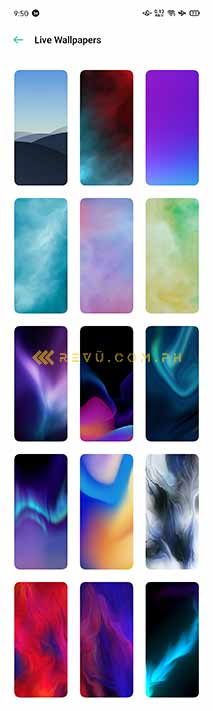 OPPO Android 10-based ColorOS 7 live wallpapers via Revu Philippines