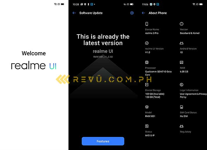 Realme UI Android 10 skin review by Revu Philippines