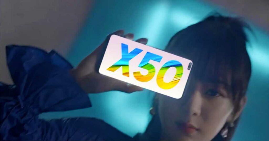Endorser Yang Zi and Realme X50 5G price and specs via Revu Philippines