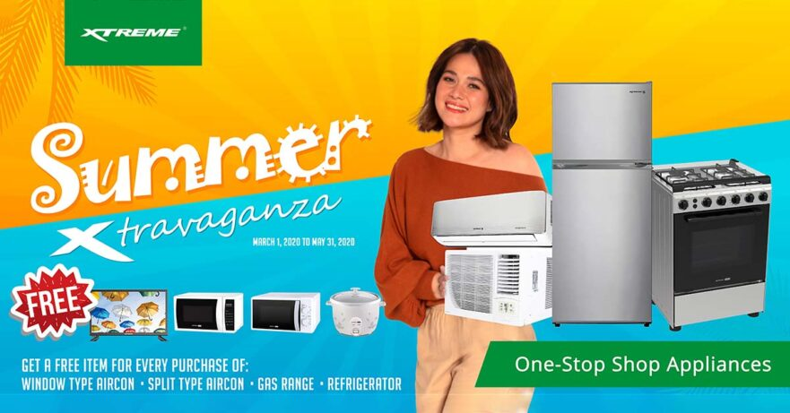 Bea Alonzo and Xtreme Summer Xtravaganza Promo items and freebies via Revu Philippines