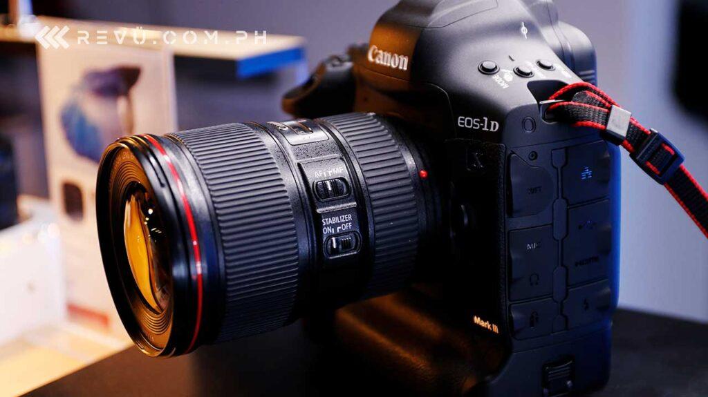 Canon EOS-1D X Mark III price and specs via Revu Philippines