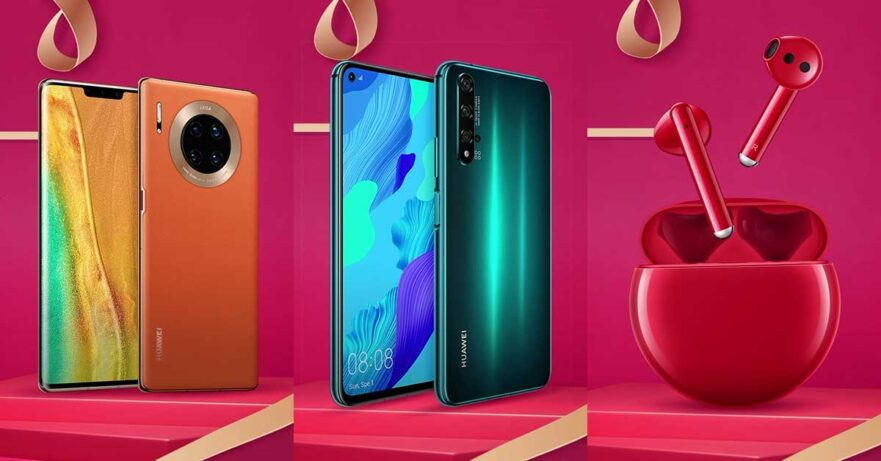 Huawei Valentines 2020 promo's new products and their sale prices via Revu Philippines