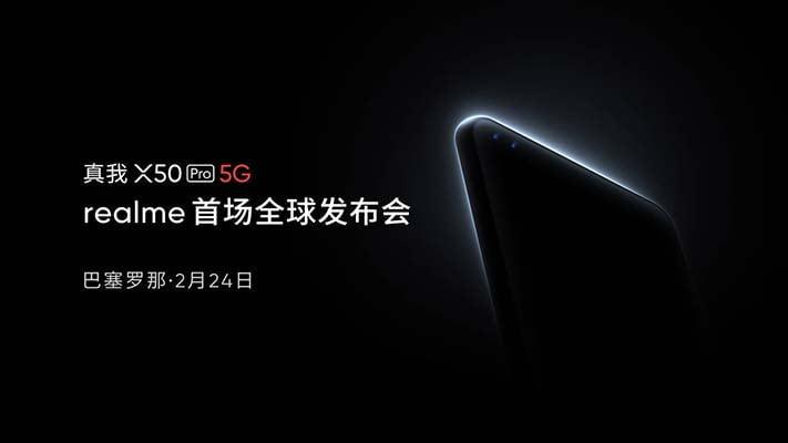 Realme X50 Pro 5G launch teaser via Revu Philippines