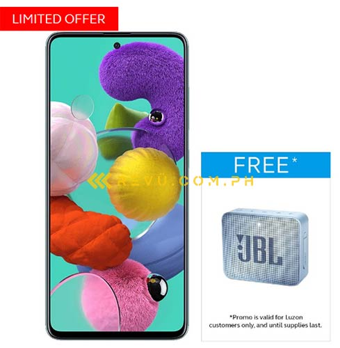 Samsung Galaxy A51: Globe Telecom postpaid plans and its specs via Revu Philippines
