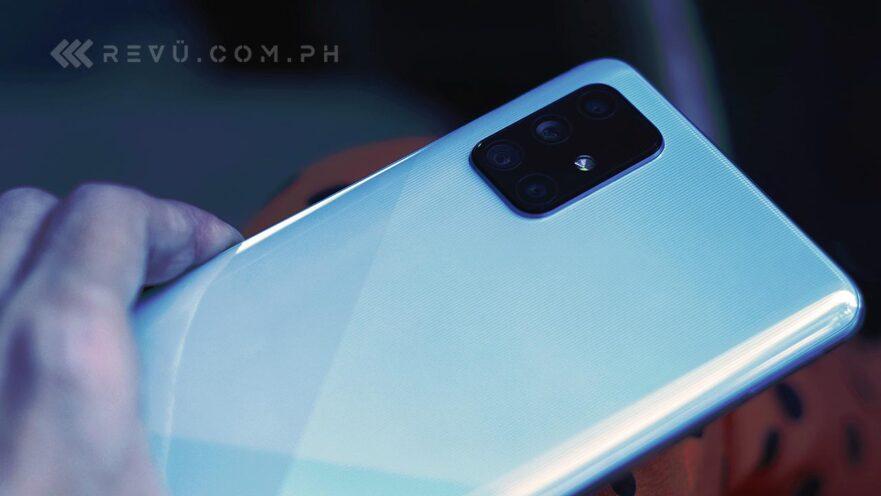 Samsung Galaxy A71 price and specs via Revu Philippines