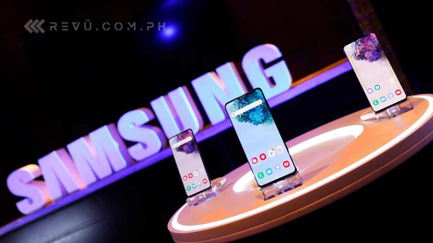 Samsung Galaxy S20, Samsung Galaxy S20 Plus, and Samsung Galaxy S20 Ultra price and specs via Revu Philippines