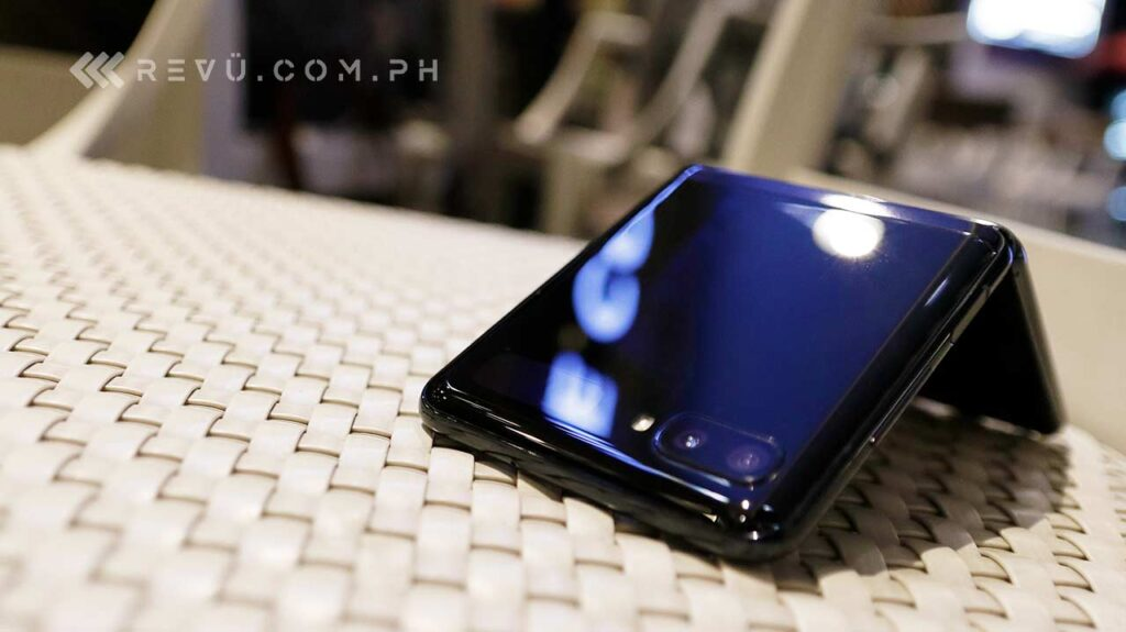 Samsung Galaxy Z Flip hands-on review, price, and specs via Revu Philippines