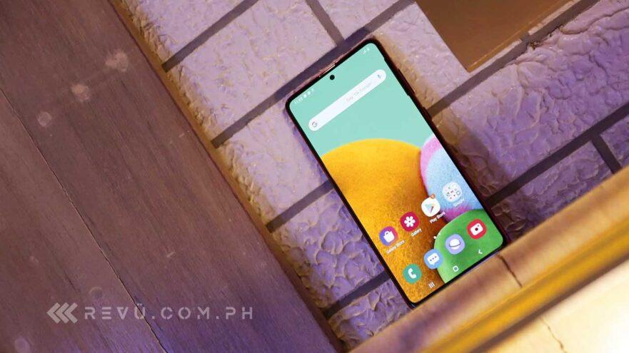 Samsusng Galaxy Note 10 Lite price and specs via Revu Philippines