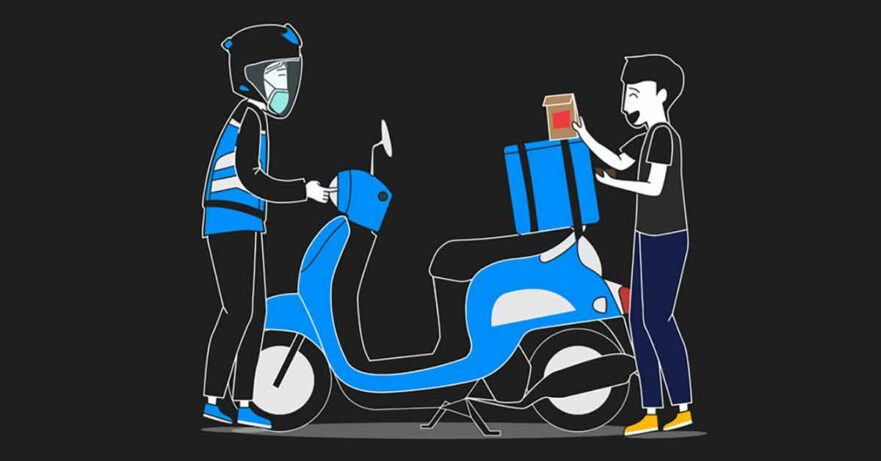 Angkas Food delivery service launched amid the coronavirus lockdown via Revu Philippines