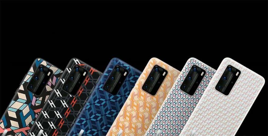 Huawei P40, Huawei P40 Pro, and Huawei P40 Pro Plus monogram series cases via Revu Philippines