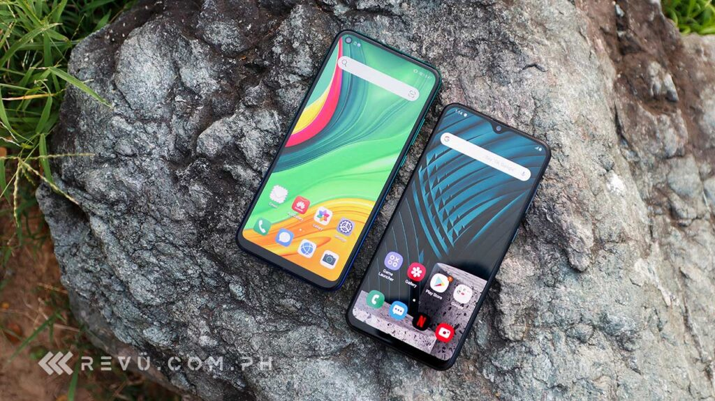 Samsung Galaxy A30s vs Huawei Y7p specs and price comparison review by Revu Philippines