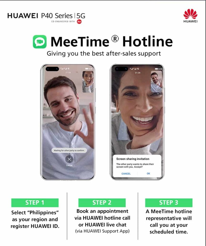 How to speak with a customer service representative using Huawei MeeTime hotline via Revu Philippines