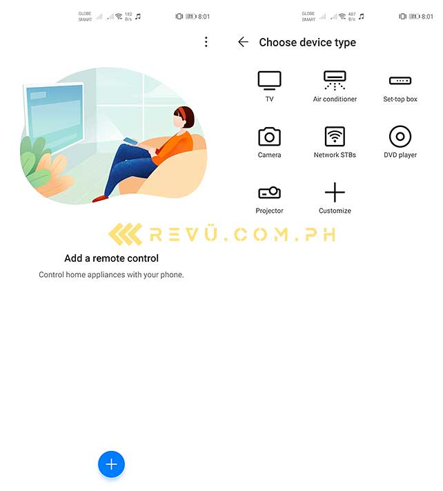 Huawei P40 Pro remote control app by Revu Philippines