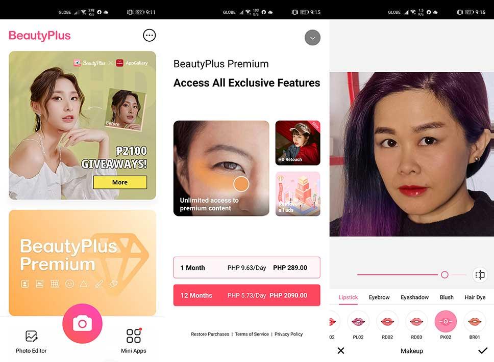 Huawei AppGallery: BeautyPlus app by Revu Philippines