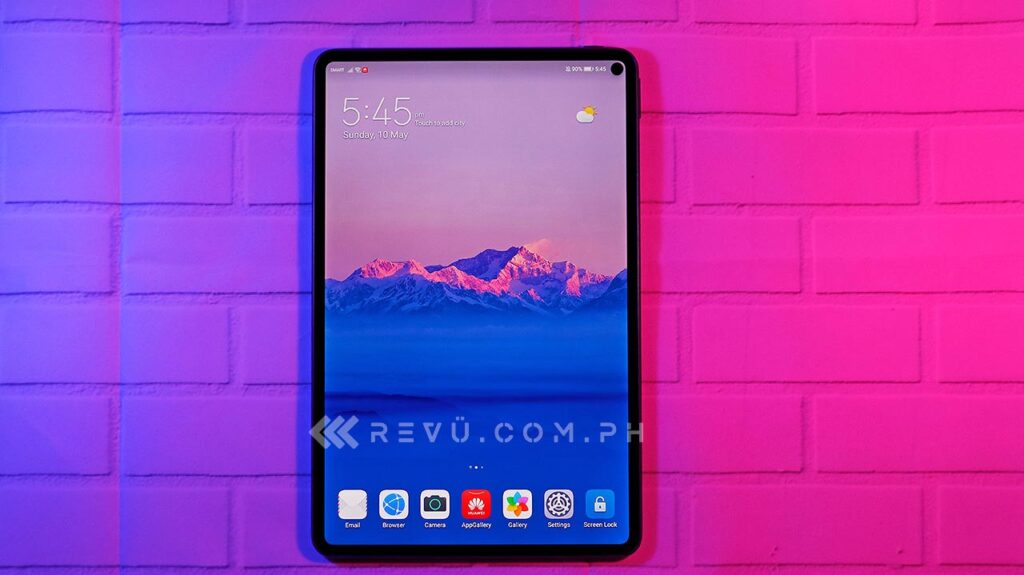 Huawei MatePad Pro review, price, and specs via Revu Philippines