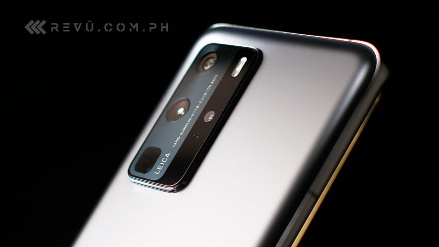 Huawei P40 Pro in silver frost color: Review, price, and specs by Revu Philippines