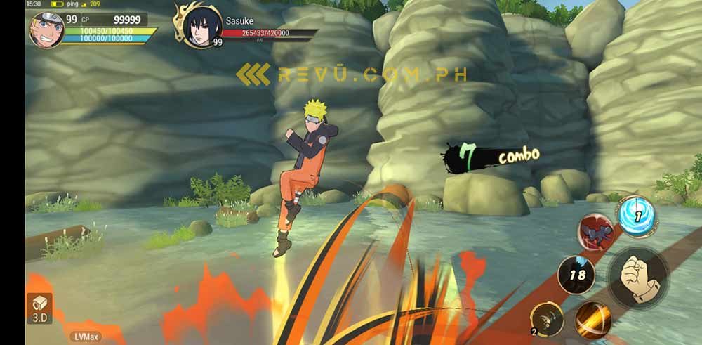 Naruto on the Huawei Y7 AppGallery via Revu Philippines