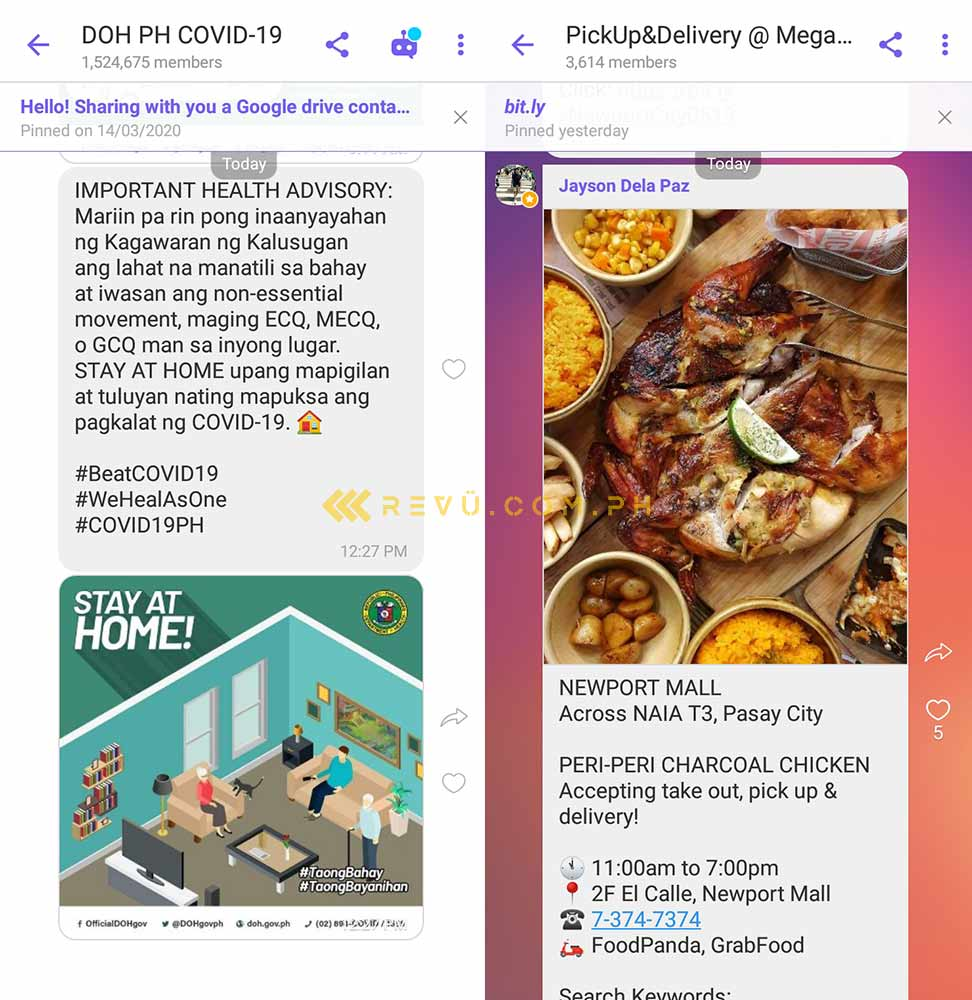 Viber on the Huawei Y7 AppGallery via Revu Philippines
