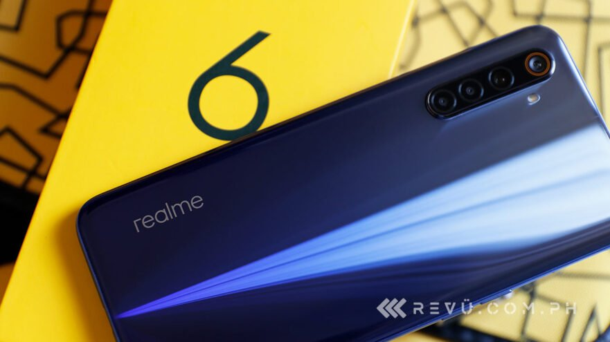 Realme 6 review, price, and specs via Revu Philippines