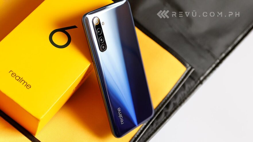 Realme 6 review, price, and specs via Revu Philippines