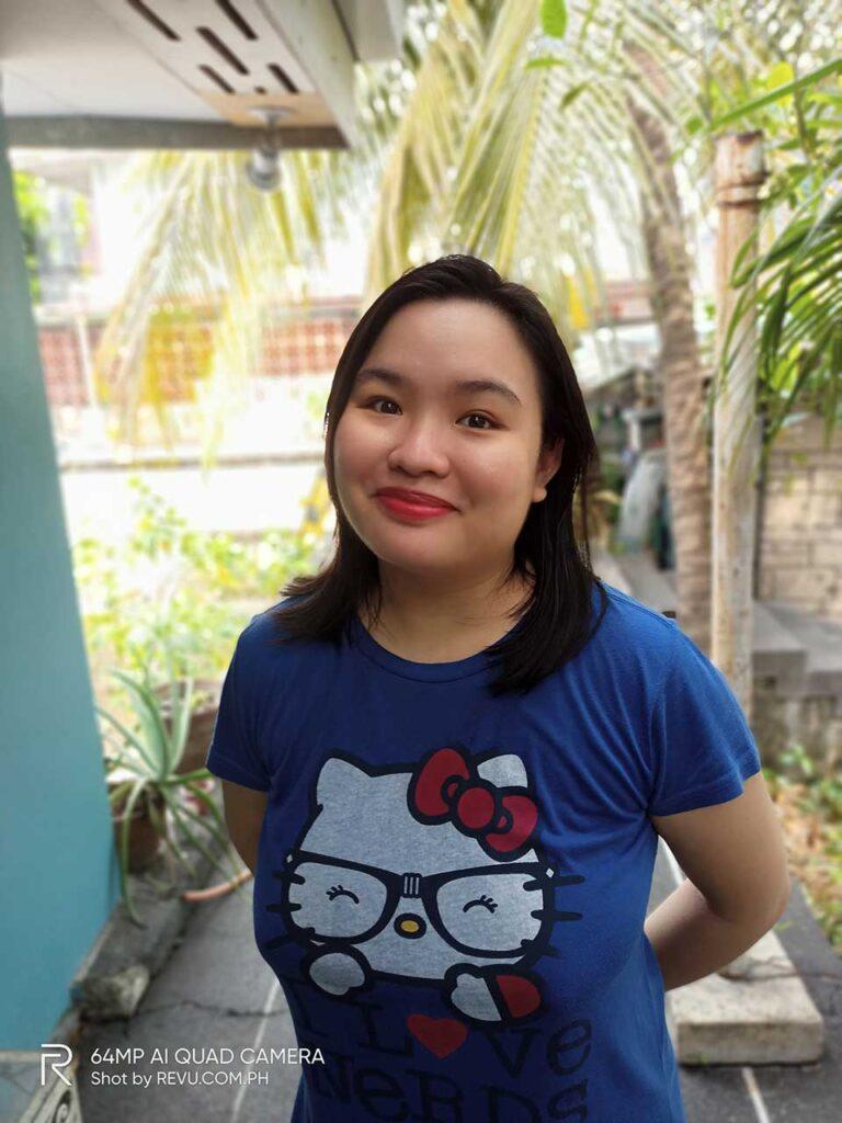 Realme 6 sample picture taken in portrait mode by Revu Philippines