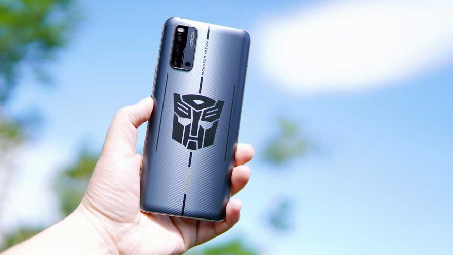 Vivo iQOO 3 5G Transformers Limited Edition actual picture, price, and specs via Revu Philippines