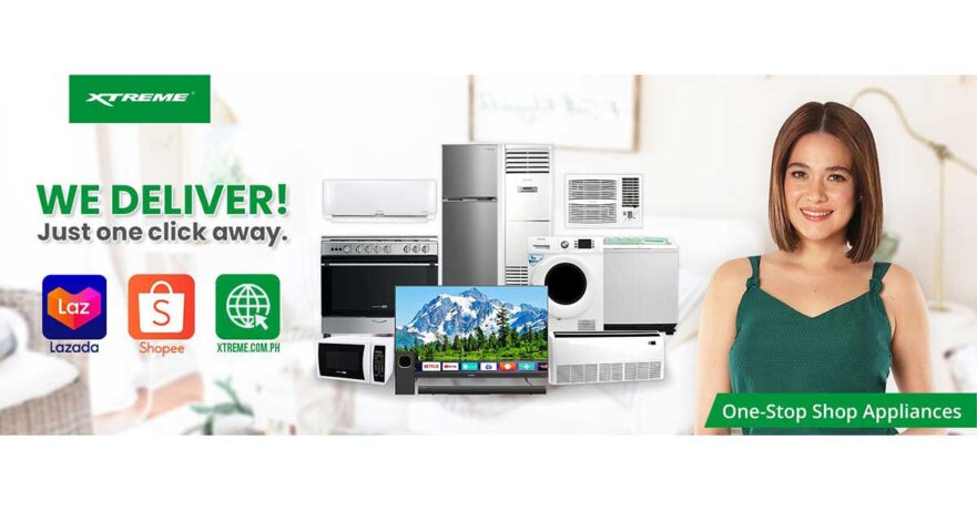 Xtreme online appliance stores via Revu Philippines