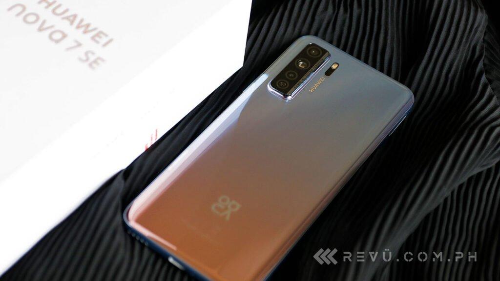 Huawei Nova 7 SE 5G review, price, and specs via Revu Philippines