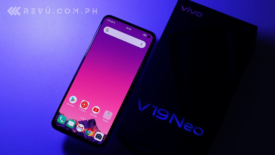 Vivo V19 Neo review, price, and specs via Revu Philippines