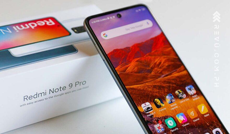 Xiaomi Redmi Note 9 Pro price and specs via Revu Philippines