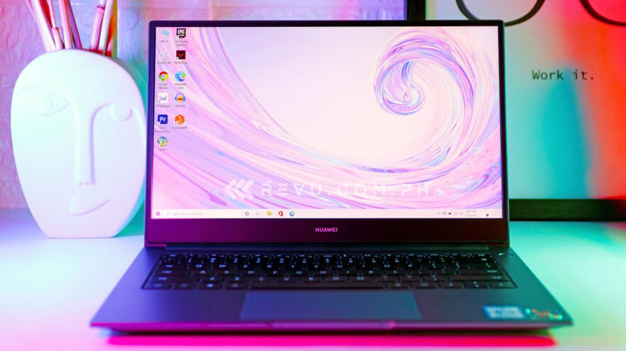 Huawei MateBook D 14 review, price, and specs via Revu Philippines