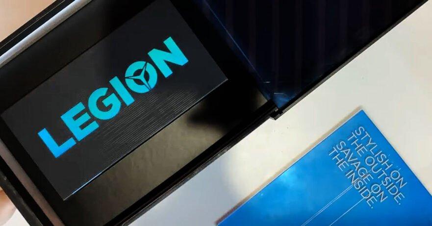 Lenovo Legion Gaming Phone box unboxing on Weibo via Revu Philippines