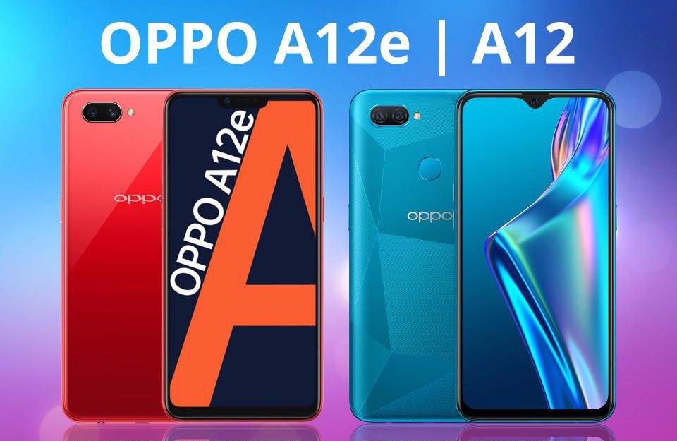 OPPO A12e and OPPO A12 price and specs via Revu Philippines