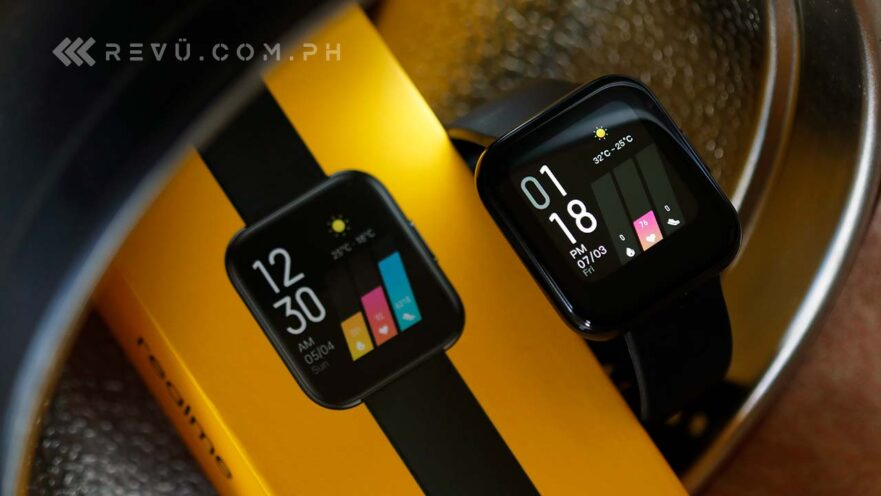 Realme Watch review, price, and specs via Revu Philippines
