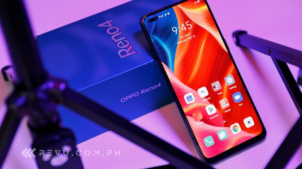 OPPO Reno 4 review, price, and specs via Revu Philippines
