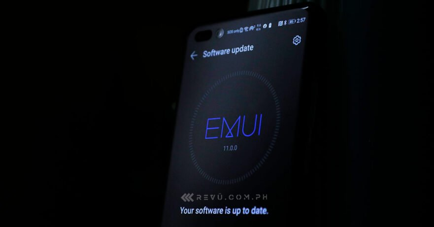 EMUI 11 update on Huawei P40 Pro of Revu Philippines' Alora Uy Guerrero