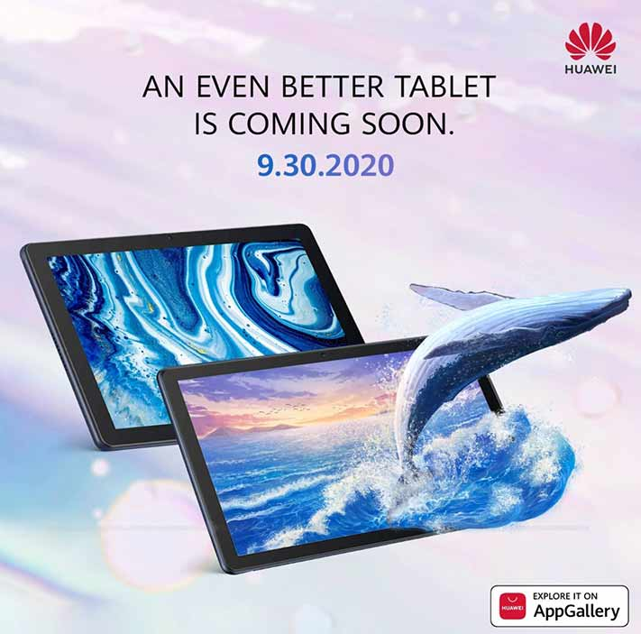 Huawei MatePad T 10s and Huawei MatePad T 10 tablets launch date teaser via Revu Philippines