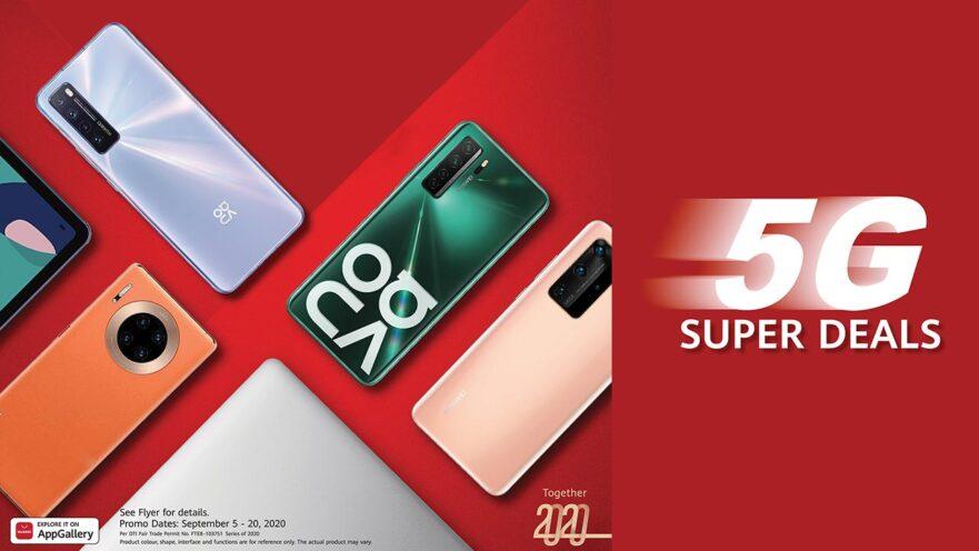 Huawei Super 5G Deals: September 2020 promo freebies via Revu Philippines