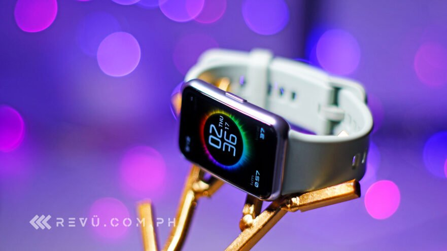 Huawei Watch Fit review, price, and specs via Revu Philippines