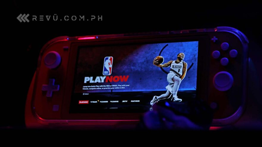 NBA 2K21 review on the Nintendo Switch Lite by Revu Philippines