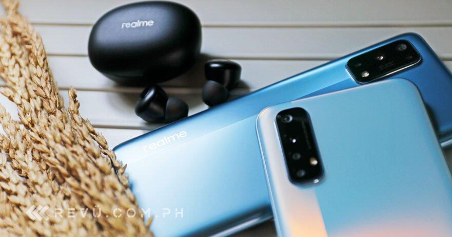 Realme 7 Pro, Realme 7, and Realme Buds Q price and specs via Revu Philippines