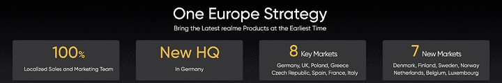Realme One Europe strategy details via Revu Philippines