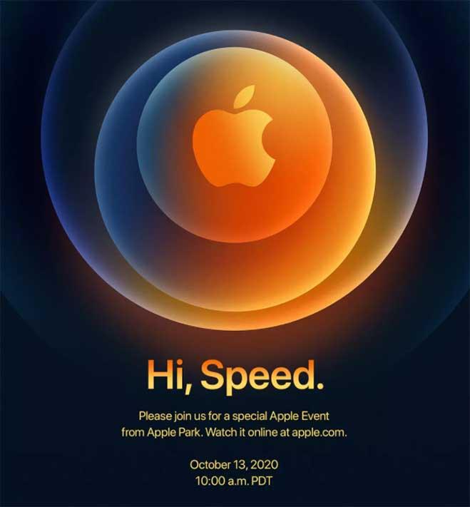 Apple iPhone 12 launch invite via Revu Philippines