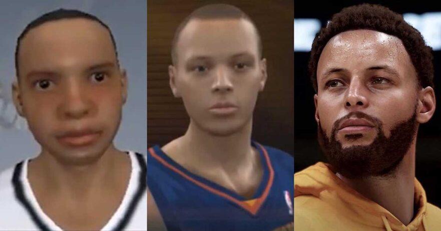 Before vs NBA 2K21 next-gen gameplay graphics comparison via Revu Philippines