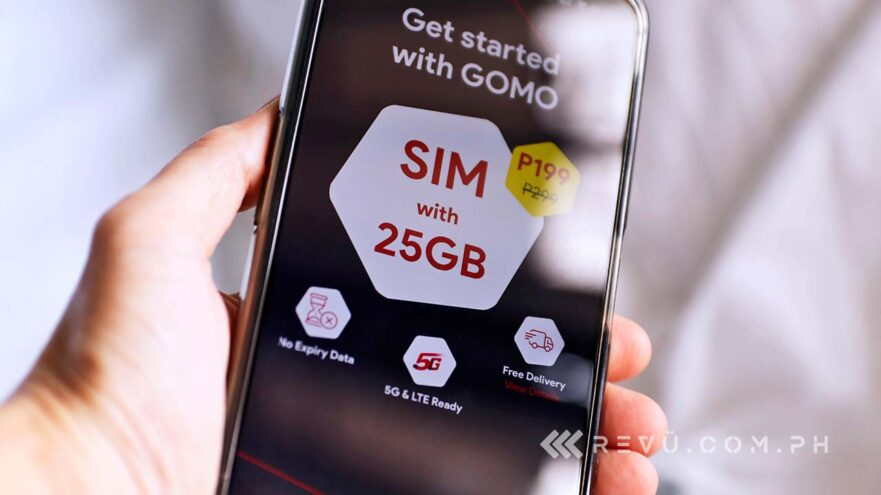GOMO Philippines digital telco via Revu