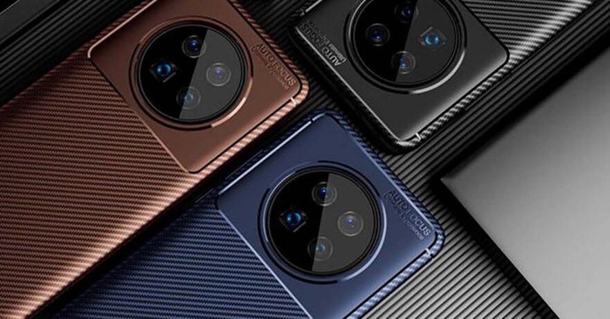 Huawei Mate 40 Pro case render leak via Revu Philippines