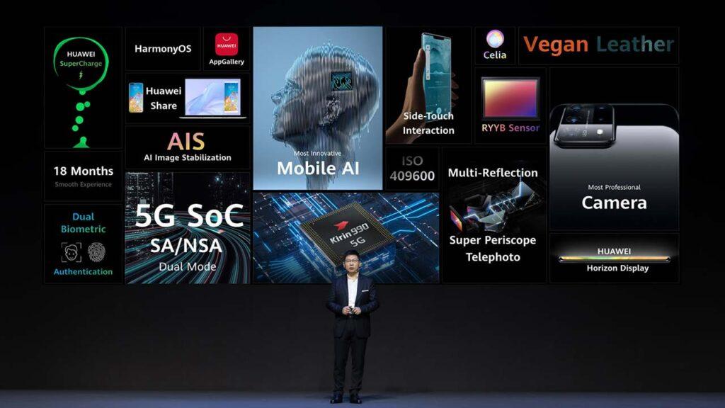 Huawei Mate 40 series launch featuring Richard Yu via Revu Philippines
