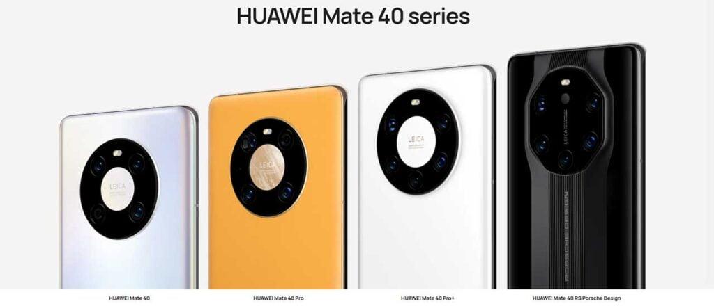 Huawei Mate 40 series price and specs via Revu Philippines